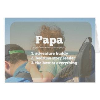 Defanition des Papas Karte