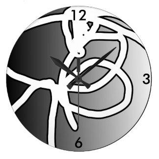 Defekte Kreis-Uhr der Kugel-II Große Wanduhr