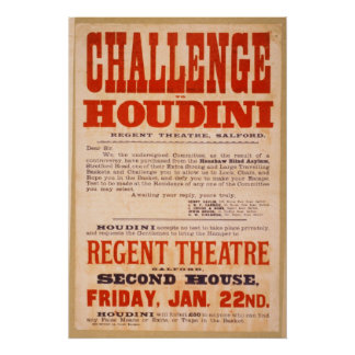 Défi Houdini Affiches