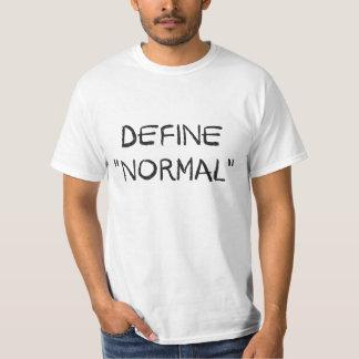 Definieren Sie Normal T-Shirt
