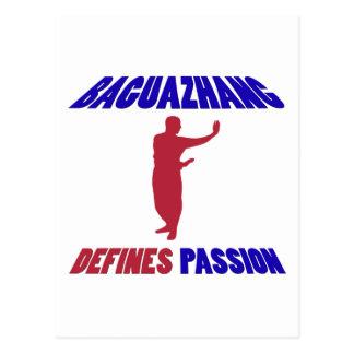definiert Baguazhang Postkarte
