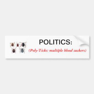 Definition des Politik-Autoaufklebers Autosticker