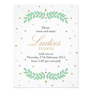 Déjeuner de dames invitations