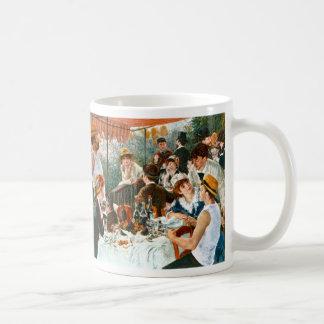 Déjeuner de la partie de canotage, Renoir Mug Blanc