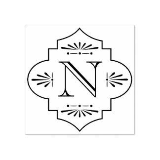 Deko-Monogramm | Gummistempel