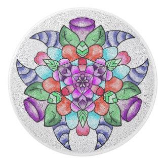 Dekor-Griff Keramikknauf