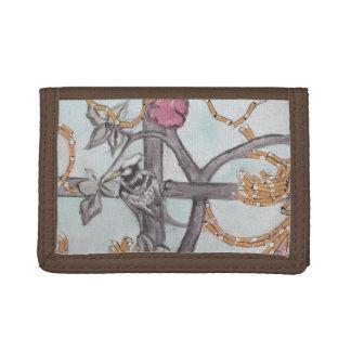 dekorativ mit einer Drehungsgeldbörse