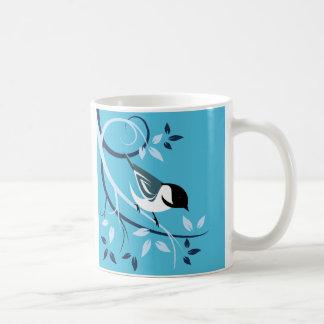 Dekorative Chickadee-Liebhaber-Geschenke Kaffeetasse
