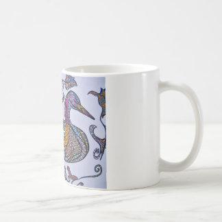 Dekorative Ente Kaffeetasse