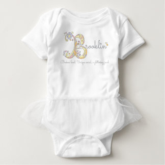 Dekorative kundenspezifische Bedeutung des Baby Strampler