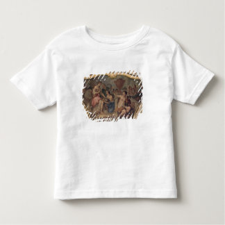 Dekorative Platte vom ovalen Salon Kleinkinder T-shirt