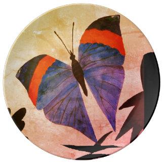 Dekorative Porzellanplatte Teller