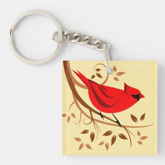 Dekorative rote Kardinals-Geschenke Schlüsselanhänger