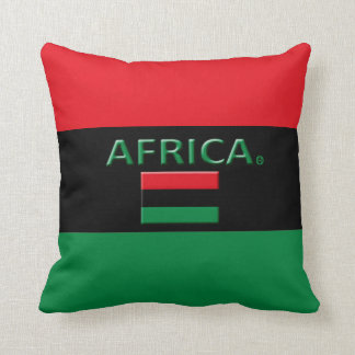 Dekorativer Designer-Wurf Afrikas oder lumbale Kissen
