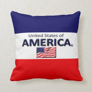 Dekorativer Designer-Wurf Amerikas oder lumbales Kissen
