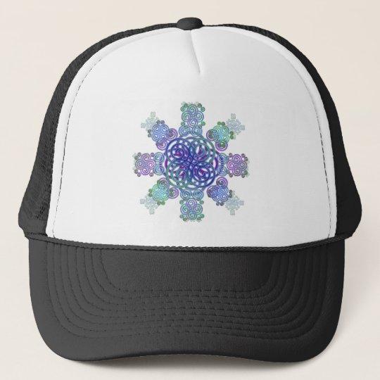Dekorativer keltischer Entwurf Caps