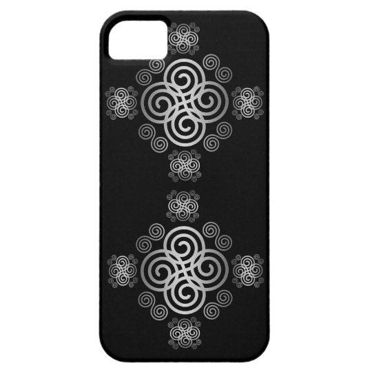 Dekorativer keltischer Entwurf iPhone 5 Cover