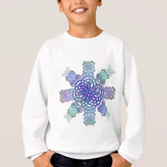 Dekorativer keltischer Entwurf Sweatshirt