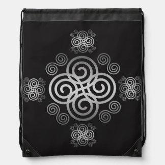 Dekorativer keltischer Entwurf Turnbeutel