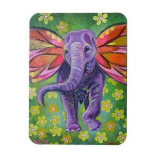 Dekorativer Magnet der Elefantkunst