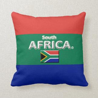 Dekorativer Wurf Südafrikas oder lumbales Kissen