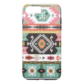 Dekoratives buntes Muster in der aztekischen Art iPhone 8 Plus/7 Plus Hülle