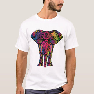 Dekoratives Elefant-Tier-Säugetier T-Shirt