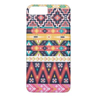 Dekoratives Muster in der aztekischen Art iPhone 8 Plus/7 Plus Hülle