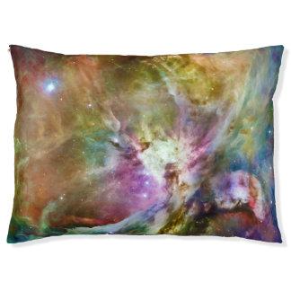 Dekoratives Orions-Nebelfleck-Galaxie-Raum-Foto Haustierbett