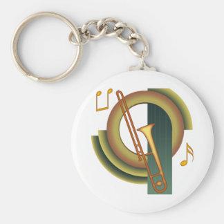 DekoTrombone Schlüsselanhänger