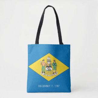 DELAWARE-Flaggen-Entwurf - Tasche