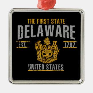 Delaware Silbernes Ornament