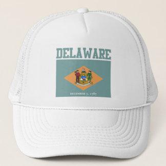 Delaware-Staats-Flaggen-Hüte Truckerkappe