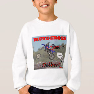 Delbert_Motorcrose Sweatshirt