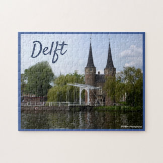 Delft-Tor (Oostpoort) mit Text