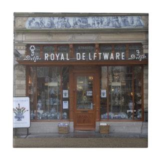 Delftware Geschäft in Delft Fliese
