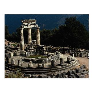 Delphi, Griechenland Postkarte