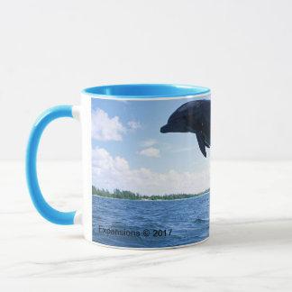 Delphin-Frequenz-Tasse Tasse