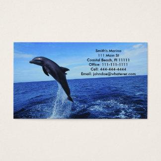 Delphin-Geschäft-Persönliche Karte