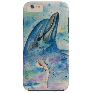 Delphin im Wasser Tough iPhone 6 Plus Hülle