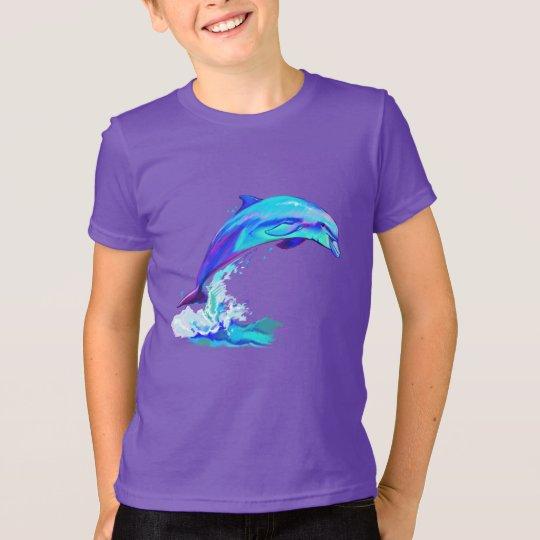 Delphin in den Farben T-Shirt
