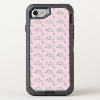 Delphin Otterbox Handy-Fall OtterBox Defender iPhone 8/7 Hülle
