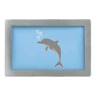 Delphin Rechteckige Gürtelschnallen