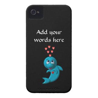 Delphine der Liebe I - i-Liebe Sie iPhone 4 Case-Mate Hülle