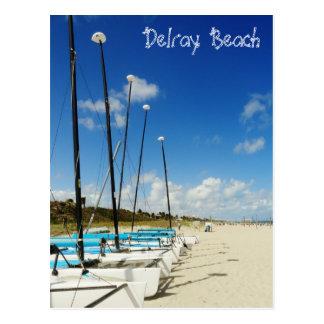 Delray- Beach/Florida-Strand Postkarte