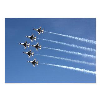 Deltabildung der Thunderbirds-F-16 Karte