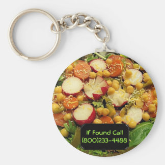 Deluxer Familien-Salat Schlüsselanhänger