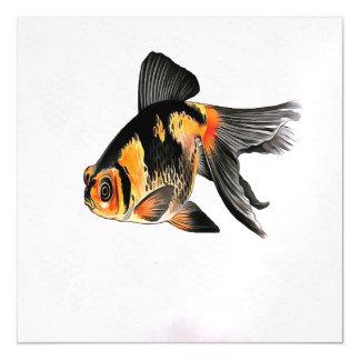 Demekin Goldfish abgeschieden Magnetische Karte