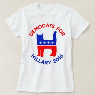 """""""Democats für Hillary 2016"""" der T - Shirt Frauen"""