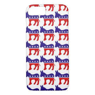 Demokrat-Esel-Muster iPhone 8/7 Hülle